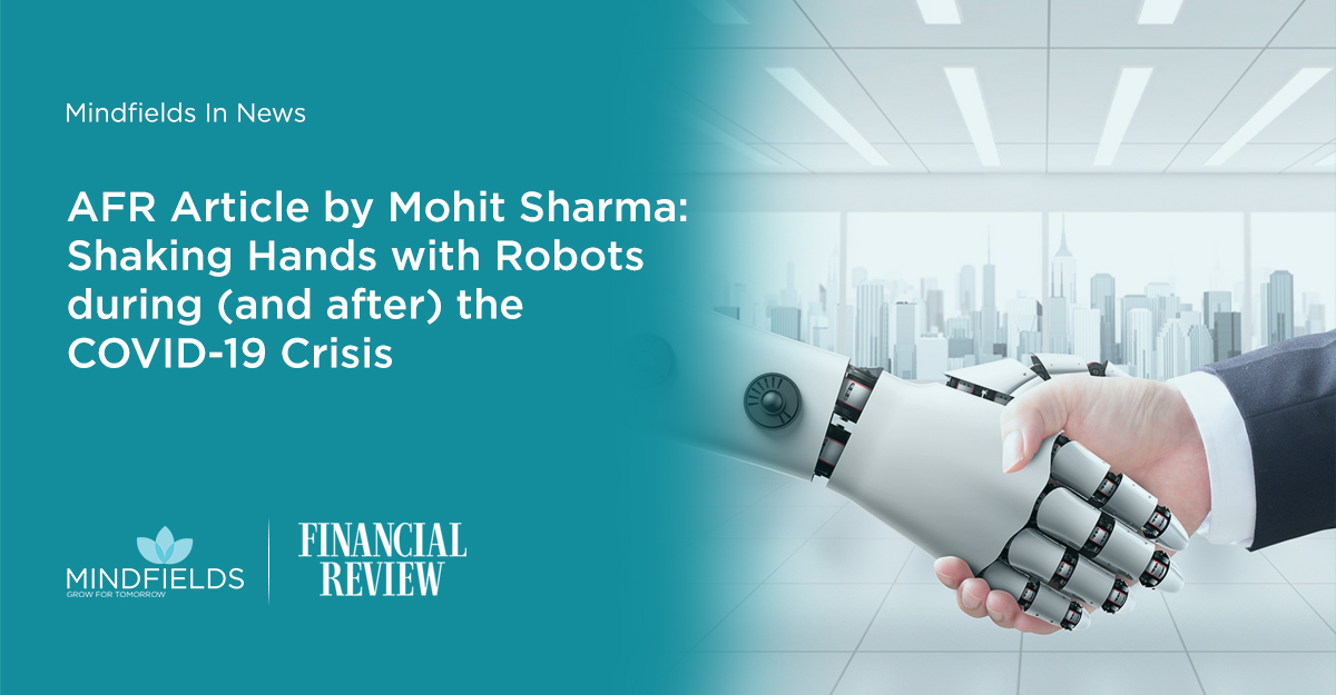 In the Media: Shaking hands with robots during (and after) the COVID-19 crisis