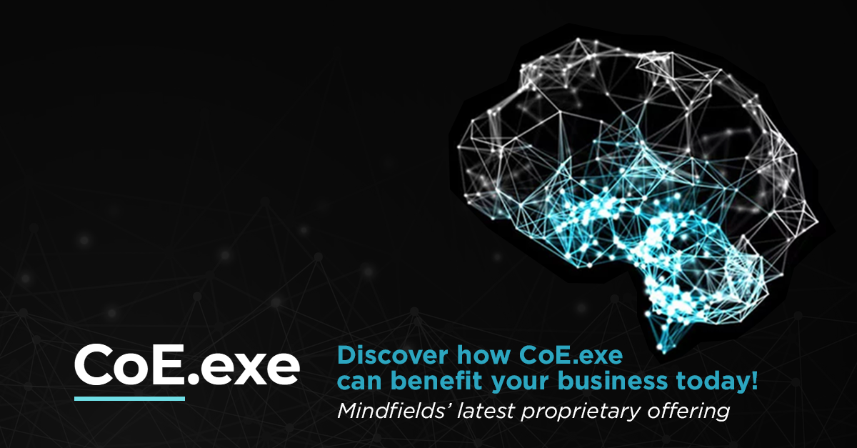 Is your organization's RPA program set-up for success? Mindfields' CoE.exe can help!